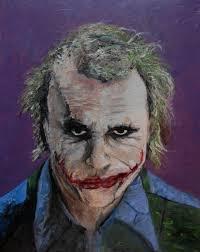 kao kabre artwork joker heath ledger original painting