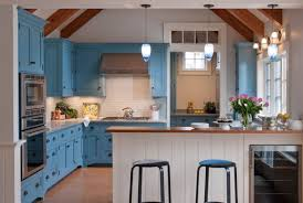 kitchen interiors designs design trend blue kitchen cabinets 30 ideas to get you started