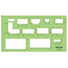 store layout template crime scene sketching forensic supplies
