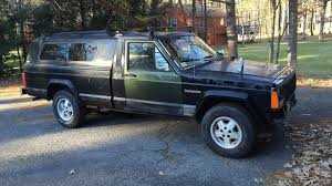 navy blue jeep the truck that got away my jeep comanche sob story the drive