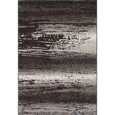 5 X 9 Area Rug Ecarpetgallery La Morocco Brown Grey Area Rug Shag 6 5 X 9 5