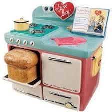 new i love lucy retro kitchen stove cookie jar vandor free