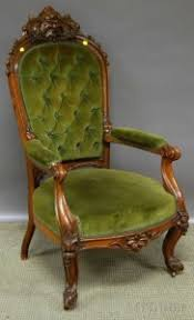 Green Velvet Armchair Search All Lots Skinner Auctioneers