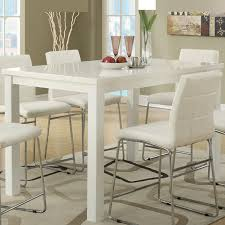 tall white kitchen table distressed white counter height table table designs