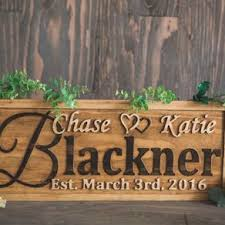 wedding plaques personalized personalized wedding gift family name sign custom carved wooden