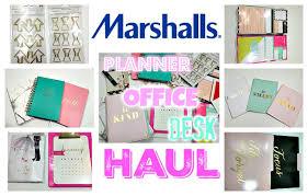 marshall u0027s haul home decor office desk planner supplies haul