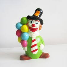 clown balloon l lladro littlest clown 5811 mint l ke new figurine circus