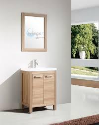 Wood Bathroom Furniture 1 American Style Wings3 Bathroom Vanity Mirror