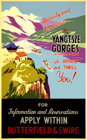 vintage china travel poster free stock photo domain pictures