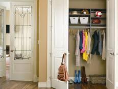 Closet Door Styles Choosing Closet Doors Hgtv