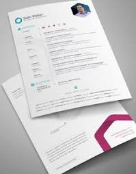 great resume layouts free resume template professional one page resume psd templates