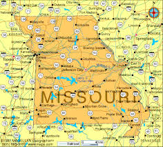 missouri map missouri map