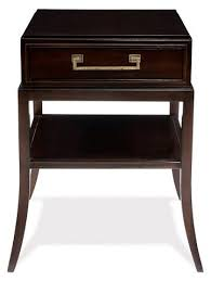sevara nightstand dark espresso nightstands bedroom