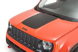 jeep renegade orange 2017 quadratec 13135 1401 premium vinyl hood blackout decal for 15 17