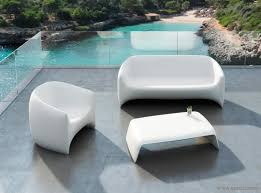 Mobilier Terrasse Design Table Basse Lumineuse Outdoor Blow Vondom Epoxia Mobilier