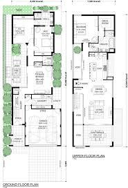 Floor Plans For Narrow Blocks 1952 Best Floor Plans In Australia Images On Pinterest Home