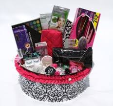 makeup gift baskets christmas makeup gift basket wonderfully made baskets 40