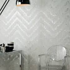bathroom mosaic tile wall glass high gloss design