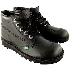 womens work boots uk amazon com womens kickers kick hi leather office work