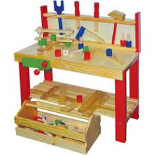 Childrens Work Benches Discovery Kids Wooden Work Bench By Discovery Kids 79 99