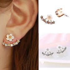 clip on stud earrings stud sterling silver costume earrings ebay