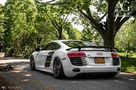 Audi R8 Green - ag luxury wheels audi r8 forged wheels