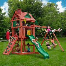 outdoors gorilla swing set gorilla swing sets composite playset