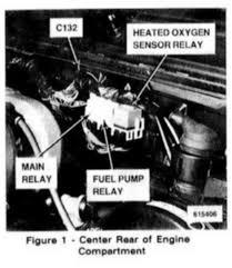 location of fuel pump relay