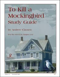 Book Report On To Kill A Mockingbird To Kill A Mockingbird Study Guide Andrew Clausen 9781586093860