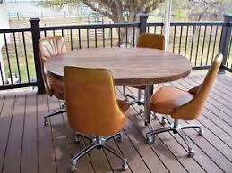 chromcraft table and chairs vintage mid century modern chromcraft kitchen dinning table leaf 4