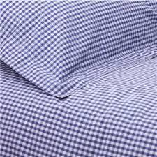 Junior Cot Bed Duvet Set Navy Blue Gingham Cot Bed Duvet Cover Toddler Bedding At Ginger