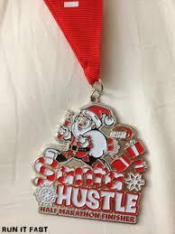 salt lake city halloween half marathon indianapolis santa hustle half marathon medal 2012 run it fast