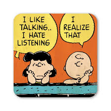 charlie brown u0026 lucy talking coaster retro drinks mat peanuts