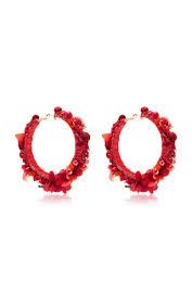 hoop la earrings laeticia hoop la la earrings by de ravenel moda operandi