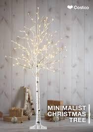 ge prelit led tree costco splendi pre