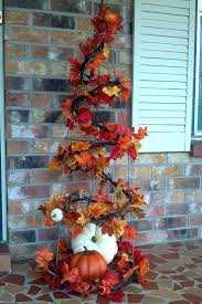 tomato cage fall tree nature autumn leaves fall diy steps fall