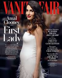 Vanity Fair Subscriptions Amal Clooney Is On The Cover Of Vanity Fair Italy 28 03 2017