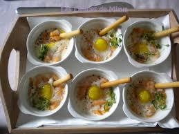 caille cuisine oeufs de caille cocotte au saumon fumé les délices de mimm