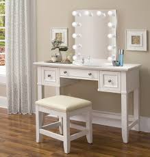 vanity make up table nashville 36 white makeup vanity table and chair glam mirrors