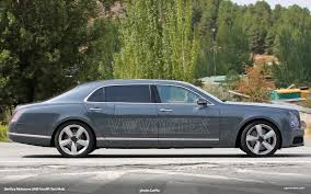 bentley mulsanne 2015 bentley mulsanne lwb facelift spied in spain vwvortex