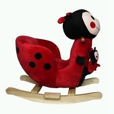 Infant Toddler Rocking Chair Foxhunter Animal Rocker Baby Kids Rocking Infant Children Toy