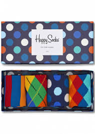 gift boxes for him and the gift by happy socks