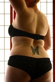 for tattoos lower back ideas with butterfly