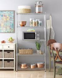 Kitchen Wall Shelving Units Kitchen Awesome Top 25 Best Wire Racks Ideas On Pinterest Rack