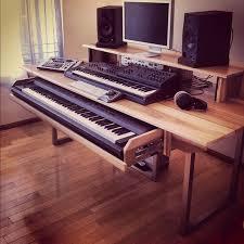 Small Recording Studio Desk The 25 Best Recording Studio Desk Ideas On Pinterest Studio