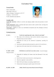 curriculum vitae resume cvcurriculum vitae plantilla curriculum
