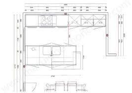 plan de cuisine moderne avec ilot central plan cuisine moderne cuisine amacnagace plan cuisines modernes plan