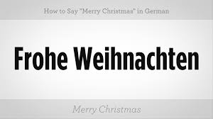 how to say merry in german german lessons