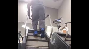 how to use a stair climber to get a high round youtube
