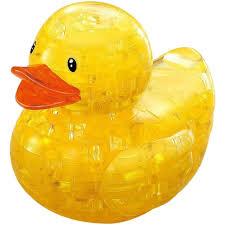 3d puzzle rubber duck